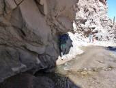 Primeras pasadas roca