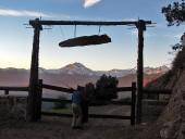 Entrada a Alto Huemul