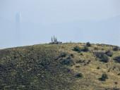 Cumbre del Alto de las Vizcachas desde la ruta al Provincia