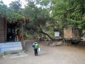 Guardería Conaf e inicio del sendero