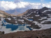 Laguna de Reyes descongelándose