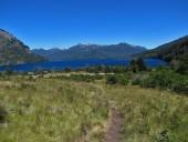Vista al lago Paimún