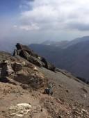 Vista al sur desde la cumbre