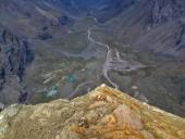 Vista desde la cumbre de la Loma Rabona