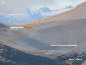 Detalle 1 del paso por la laguna hacia el portezuelo