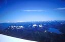 Volcan LLaima desde la cumbre del Lanin
