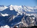 Cerros desde la cima del Maipo