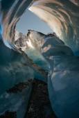 Pasajes al interior del Glaciar