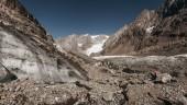 Base del Glaciar Juncal