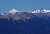 Osorno y Puntiagudo desde Argentina