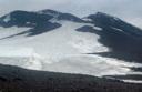 Ruta de ascenso por el glaciar de