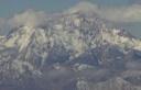 Cara oeste Mercedario (vista aérea)