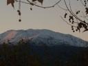 Cerro Carpa en Atardecer de Mayo
