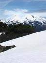 Llaima desde la Sierra Nevada