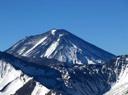 El Maipo desde la cumbre del cerro Chancaca