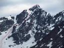 Ruta Pico Negro solitario