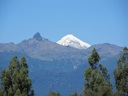 Volcán Lanín desde Catripulli