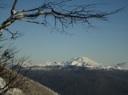 Tronador desde el Puyehue en invierno