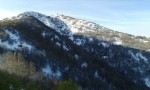 Vista a la antena del cerro El Roble
