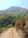 ruta sendero el andinista