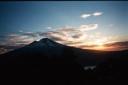 Atardecer Volcán Llaima desde el Sierra Nevada