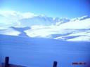 Cerro Manchón Majestuosamente Nevado
