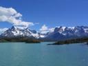 Paine Grande desde lago Pehoé