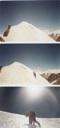 Último tramo de hielo y filo cumbrero