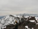Vista cumbre Punta de Damas hacia el Plomo
