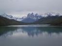 Cuernos del Paine y río Paine
