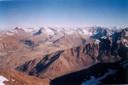 Vista desde la cumbre a la laguna Negrra