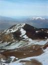 Cerro La Parva desde el Pintor