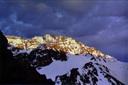 Amanecer desde cerro Vega