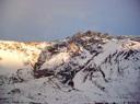 Cerro Retumbadero al Atardecer
