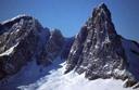Cara Norte Cerro Agudo desde paso cristal