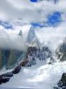 Cara Oeste del Cerro Torre después de una tormenta