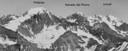 Reconocimento de cumbres desde el Tupungato