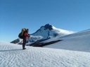 Choshuenco desde glaciar del Mocho