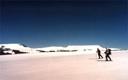 Esquiando por el paso El Arco