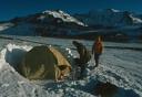 Campamento en Cancha de Carreras