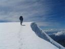 Llegando a la cumbre