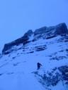 Paso de Roca con nieve