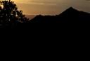 Cerro Manquehue desde Cerro Provincia