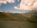 Vista del Maipo desde Pampa de los Avestruces.