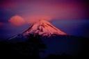 Volcán Llaima al atardecer