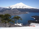 Volcán LLaima desde la Sierra Nevada