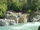 Pasando el río Achibueno