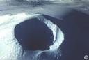 El cráter en 1971