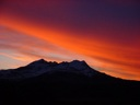 Atardecer de invierno en el Monte Ferrier