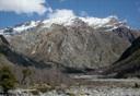 Cara norte del cerro El Toro